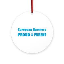 Burmese Parent Ornament (Round)