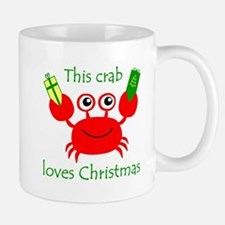 Christmas Crab Small Small Mug
