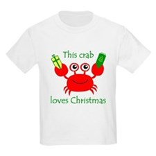Christmas Crab T-Shirt