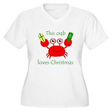 Christmas Crab T-Shirt