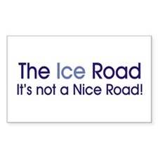 The Ice Road Rectangle Decal