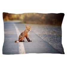 Funny Fox red Pillow Case