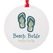 Personalize Flip Flops Ornament