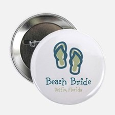 "Personalize Flip Flops 2.25"" Button"