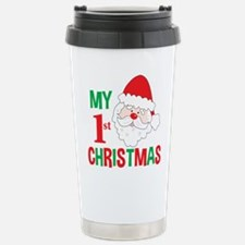 My 1st Christmas Santa Claus Travel Mug