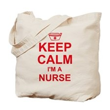 Keep Calm Nurse Tote Bag
