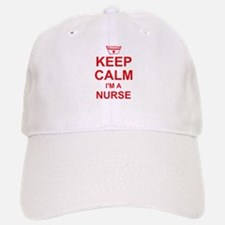 Keep Calm Nurse Baseball Baseball Cap