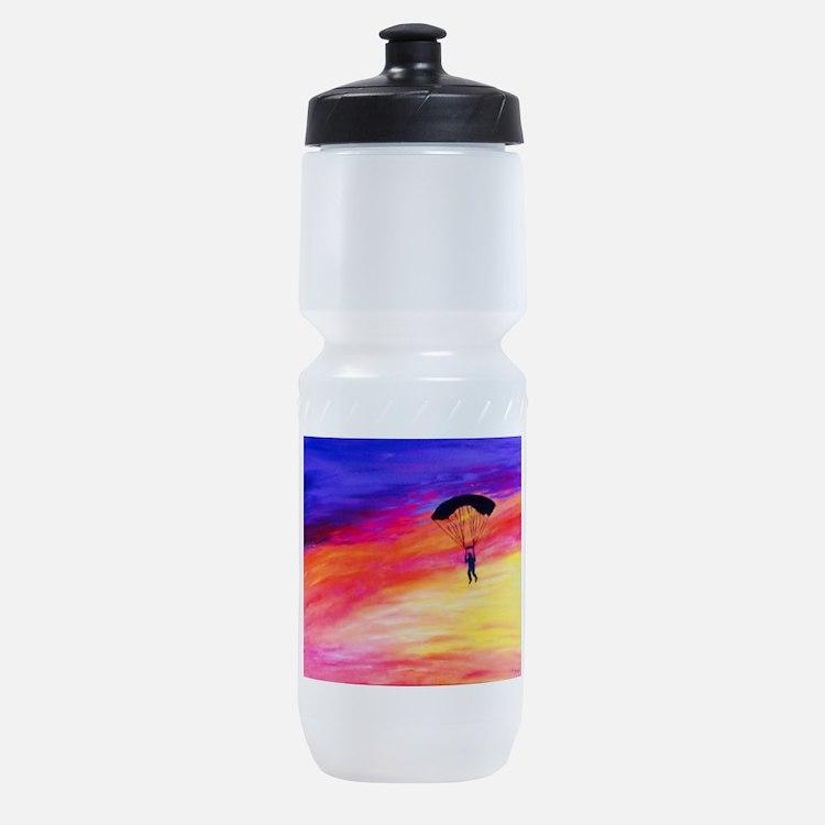 Cute Skydive Sports Bottle