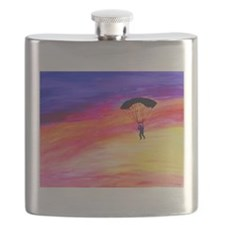 Cute Parachuting Flask