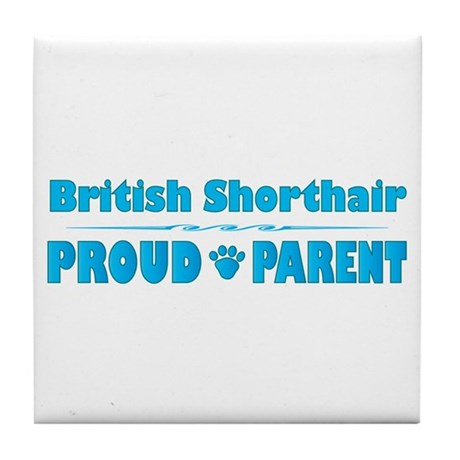 Shorthair Parent Tile Coaster
