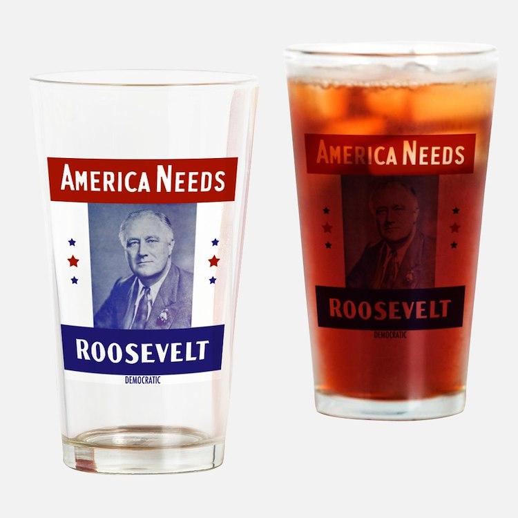 Cute Republican president Drinking Glass