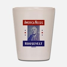 Unique Roosevelt Shot Glass