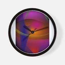 Dark Mango Wall Clock