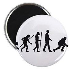 Cute Ice hockey player Magnet
