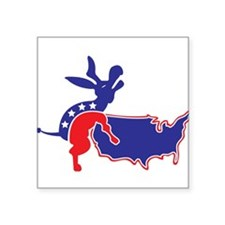 """Cute Anti obama Square Sticker 3"""" x 3"""""""