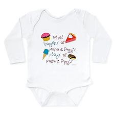 Cute Poppy Long Sleeve Infant Bodysuit