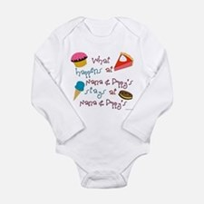 Unique Poppy Long Sleeve Infant Bodysuit