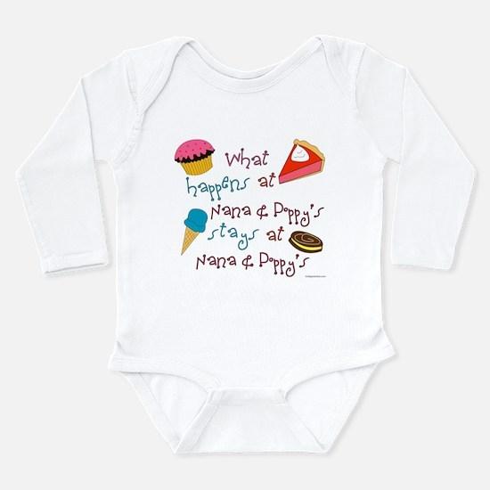 Cute Nanna Long Sleeve Infant Bodysuit