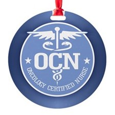 Oncology Certified Nurse Ornament