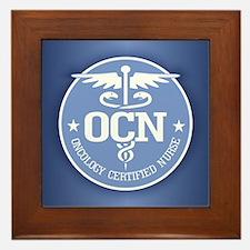 Oncology Certified Nurse Framed Tile