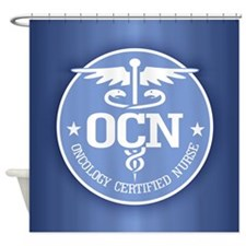 Oncology Certified Nurse Shower Curtain
