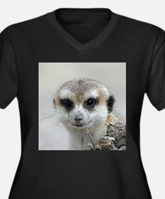 Meerkat001 Plus Size T-Shirt