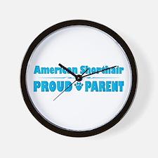Shorthair Parent Wall Clock