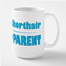 Shorthair Parent Large Mug