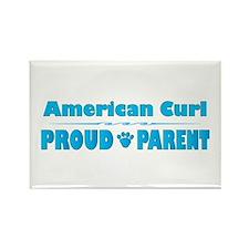 Curl Parent Rectangle Magnet
