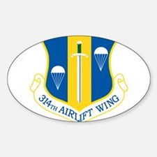 314th Airlift Wing Decal