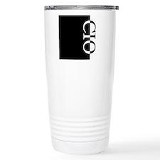 Cute Initial Travel Mug