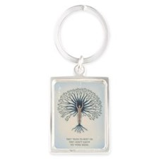 We Are Seeds Portrait Keychain Keychains