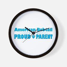 Bobtail Parent Wall Clock