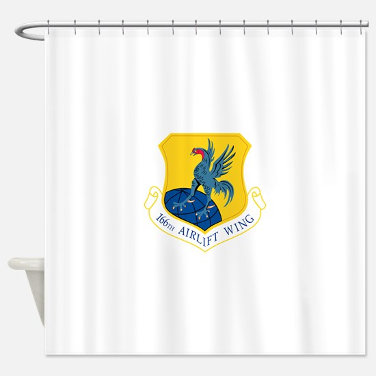 166th Airlift Wing.png Shower Curtain