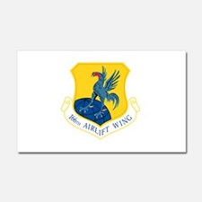 166th Airlift Wing.png Car Magnet 20 x 12