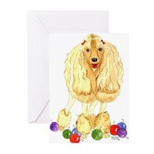 Funny Dog painting Greeting Cards (Pk of 20)