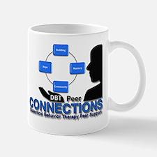 DBT Peer Connections Logo Mug