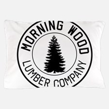 Morning wood lumber company Pillow Case