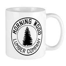 Morning wood lumber company Mugs