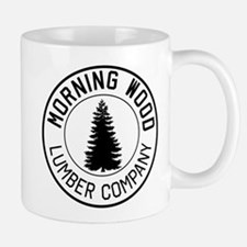Morning wood lumber company Mugs