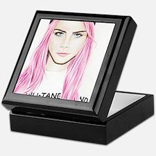 Pink Cara Keepsake Box