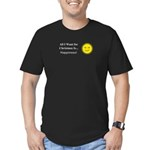 Christmas Happiness Men's Fitted T-Shirt (dark)
