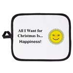 Christmas Happiness Potholder