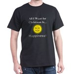 Christmas Happiness Dark T-Shirt