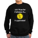Christmas Happiness Sweatshirt (dark)