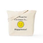 Christmas Happiness Tote Bag