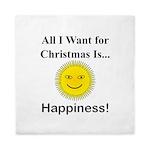 Christmas Happiness Queen Duvet