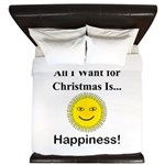 Christmas Happiness King Duvet
