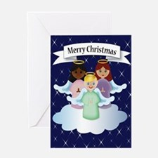 Little Angel Xmas Greeting Cards