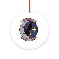 55th Rescue Squadron.png Ornament (Round)